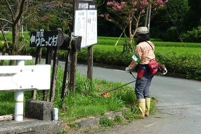 Yutattomura_kusakari120902